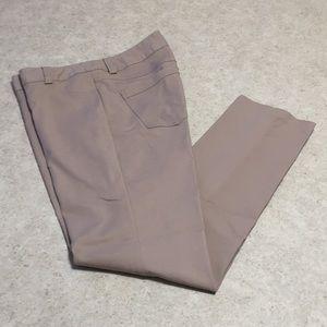 WOMENS I.N.C. SAND COLOR SKINNY PANTS